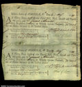 Colonial Notes:Maryland, Maryland Continental Loan Office Bill of Exchange May 11, ...