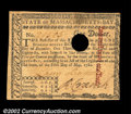 Colonial Notes:Massachusetts, Massachusetts May 5, 1780 About New. A $1 and a $3 example,...
