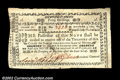 Colonial Notes:New Hampshire, New Hampshire November 3, 1775 40s Choice Very Fine. ...