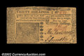 Colonial Notes:New Jersey, New Jersey June 14, 1757 30s Choice New. Not to be ...