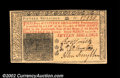 Colonial Notes:New Jersey, New Jersey March 25, 1776 15s Very Choice New. A letter-...