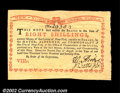 Colonial Notes:New York, New York August 2, 1775 8s Gem New. A broadly margined, ...