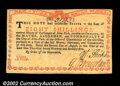 Colonial Notes:New York, New York August 2, 1775 8s Very Choice New. Extremely well ...