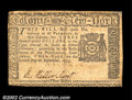 Colonial Notes:New York, New York September 2, 1775 $3 Extremely Fine. Well printed,...