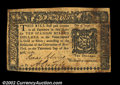 Colonial Notes:New York, New York August 13, 1776 $10 Extremely Fine. A very high ...