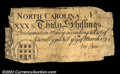 Colonial Notes:North Carolina, North Carolina March 9, 1754 30s Fine. Although there are ...