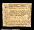 Colonial Notes:North Carolina, North Carolina December 1768 40s Very Fine. Extremely well ...