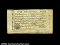 Colonial Notes:North Carolina, North Carolina December 1771 1s Choice Extremely Fine. A ...
