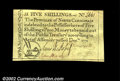 Colonial Notes:North Carolina, North Carolina December 1771 5s About New. Utterly problem-...