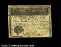 Colonial Notes:North Carolina, North Carolina April 2, 1776 $10 Extremely Fine. A nice ...
