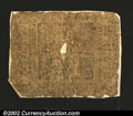 Colonial Notes:Pennsylvania, Pennsylvania May 20, 1758 10s Poor. Tattered and mounted ...