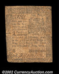 Colonial Notes:Pennsylvania, Pennsylvania June 18, 1764 6d Fine. The face is solid for ...