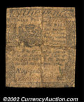 Colonial Notes:Pennsylvania, Pennsylvania June 18, 1764 9d Very Good. Old backing ...