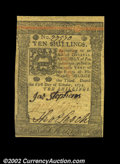Colonial Notes:Pennsylvania, Pennsylvania October 1, 1773 10s Very Choice New. If the ...
