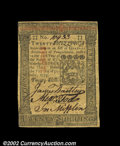 Colonial Notes:Pennsylvania, Pennsylvania October 1, 1773 20s About New. This note has ...