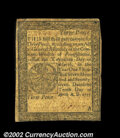 Colonial Notes:Pennsylvania, Pennsylvania April 10, 1777 3d Very Fine. A problem-free ...