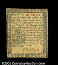 Colonial Notes:Pennsylvania, Pennsylvania April 10, 1777 9d About New. A pretty example,...