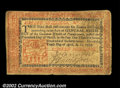 Colonial Notes:Pennsylvania, Pennsylvania April 10, 1777 16s Very Fine. This nice Red ...