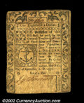 Colonial Notes:Rhode Island, Rhode Island September 5, 1776 $1/8 Very Fine. A nice, ...
