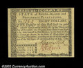 Colonial Notes:Rhode Island, Rhode Island July 2, 1780 $8 Superb Gem New. A pristine ...