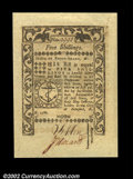 Colonial Notes:Rhode Island, Rhode Island May 1786 5s Superb Gem New. An ultimately ...