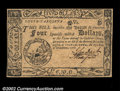 Colonial Notes:South Carolina, South Carolina December 23, 1776 $4 Very Choice New. A ...