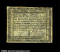 Colonial Notes:Virginia, Virginia October 16, 1780 $200 Choice Extremely Fine. ...