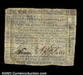 Colonial Notes:Virginia, Virginia October 16, 1780 $400 Choice About New. A well ...