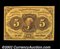 Fractional Currency:First Issue, Fr. 1230 5c First Issue Gem New. A lovely, strictly ...