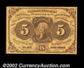 Fractional Currency:First Issue, Fr. 1230 5c First Issue Gem New. A lovely little note, ...