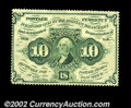 Fractional Currency:First Issue, Fr. 1240 10c First Issue Very Choice New. Fully and deeply ...