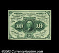 Fractional Currency:First Issue, Fr. 1243 10c First Issue Choice About New. This scarce, ...
