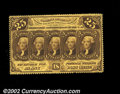Fractional Currency:First Issue, Fr. 1279 25c First Issue Very Choice New. A near-Gem ...