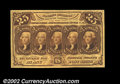 Fractional Currency:First Issue, Fr. 1281 25¢ First Issue Gem New. Broadly margined, bright ...