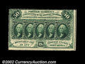 Fractional Currency:First Issue, Fr. 1310 50¢ First Issue Choice New. Fully perforated with ...