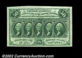 Fractional Currency:First Issue, Fr. 1312 50c First Issue Superb Gem New. One of the very ...