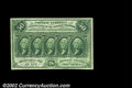 Fractional Currency:First Issue, Fr. 1312 50c First Issue Very Choice New. The face is ...