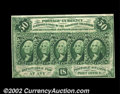 Fractional Currency:First Issue, Fr. 1313 50c First Issue About New. A very nice example of ...