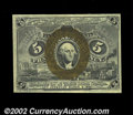Fractional Currency:Second Issue, Fr. 1233 5c Second Issue Gem New. A beautiful example, ...