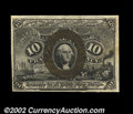 Fractional Currency:Second Issue, Fr. 1249 10c Second Issue Choice New. This scarce Fiber ...