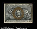 Fractional Currency:Second Issue, Fr-1283 25c Second Issue Gem New. A beautiful example of a ...