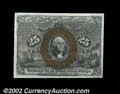 "Fractional Currency:Second Issue, Fr. 1286 25¢ Second Issue Gem New. This Inverted ""S"" is a ..."