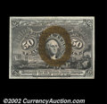 Fractional Currency:Second Issue, Fr. 1317 50¢ Second Issue Very Choice New. This bright and ...
