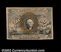 Fractional Currency:Second Issue, Fr. 1320 50¢ Second Issue Very Choice New. Well margined ...