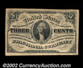 "Fractional Currency:Third Issue, Fr.1227 3¢ Third Issue About New. This is a ""no pearls"" ..."