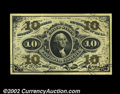 Fractional Currency:Third Issue, Fr. 1255 10c Third Issue Superb Gem New. The design on ...