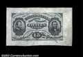 Fractional Currency:Third Issue, Fr. 1272SP 15c Third Issue Wide Margin Pair Choice New. ...