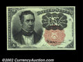 Fractional Currency:Fifth Issue, Fr. 1265 10c Fifth Issue Superb Gem New. A bright, perfect,...