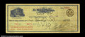 Miscellaneous:Checks, Fort Worth, TX - B. Max Mehl $2.50 Check Apr. 23, 1929