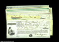 Miscellaneous:Checks, Revenue Stamp Checks. A nice group of 28 checks, all ...